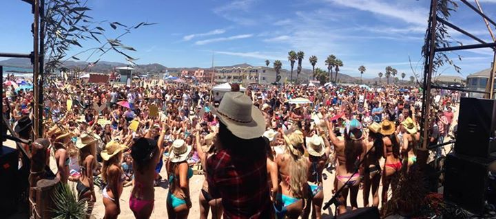 2015 Surf Rode - Ventura California Emerald ATM provided ATM services for the 3 day weekend Music and Surf festival.