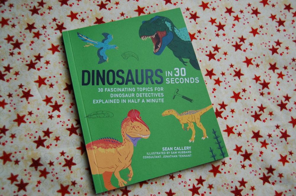 dinosaurs in 30 seconds north somerset teachers book award