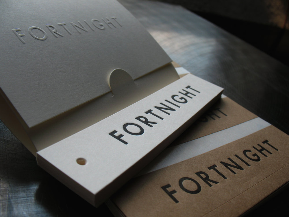 Fortnight Care Guide, Hang Tag and Label