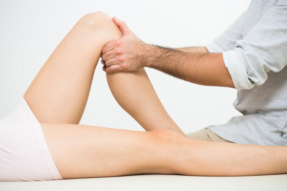 Behandlung von Muskulatur und Knochen