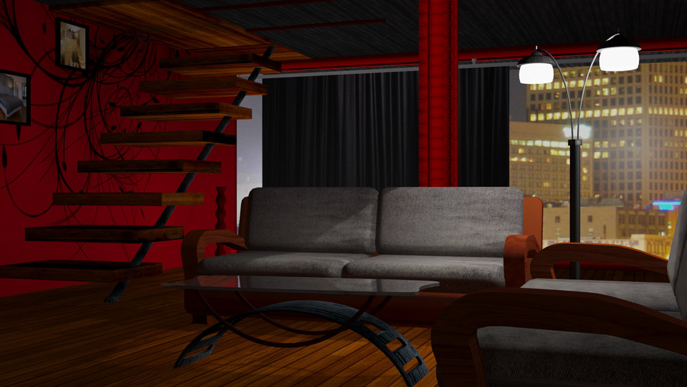 3D MENTAL RAY RENDER - NIGHT
