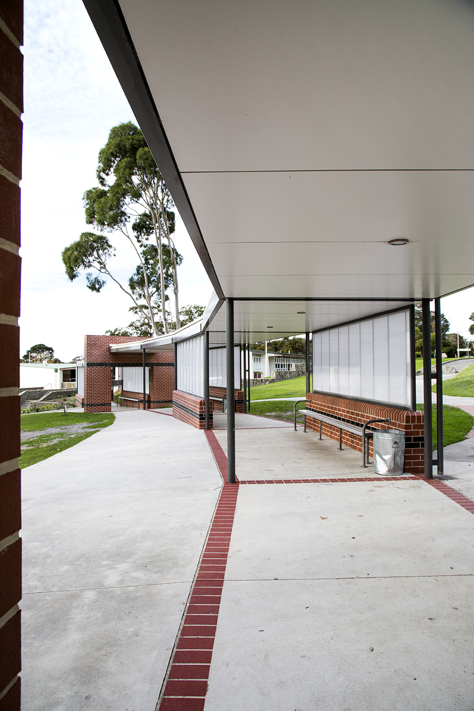 ASHS Covered Walkway