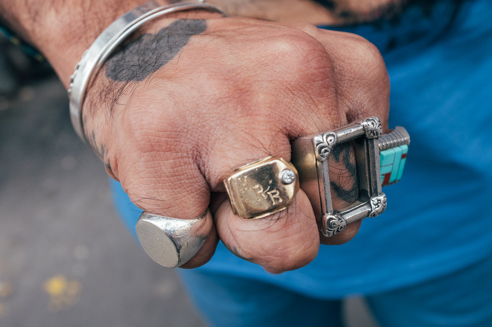 """""""Its my Father's Pinky Ring From the Fifties in New York"""""""