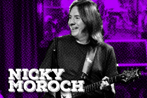 Nicky is a highly sought-after New York session guitarist. He has collaborated with artists like David Bowie, Donna Summer, The Temptations, Chaka Khan, Marcus Miller, Madonna, Bee Gees, Vanessa Williams to name a few. Nicky is using Ziggy, both Stardust pedals, Starlight and Black Magic mk2.