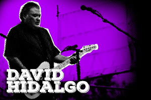 It's a great honour for us that David Hidalgo, guitar player for the multi – Grammy award winning band, Los Lobos, uses our Time delay and Vyagra boost.