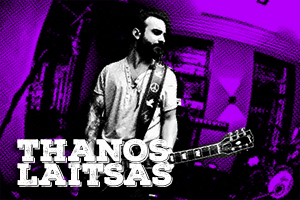 Thanos Laitsas, guitarist of the band Melisses has chosen Starlight, Vyagra Boost mk2, StonedHz, Time mk2 and Pin Up for his rig.