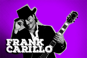 American rock musician Frank Carillo (Peter Framptom, Joan Jett, Anouk, Golden Earring) is using CTC Starlight.
