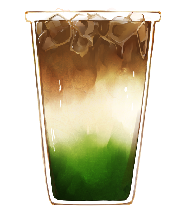 Matcha Espresso Latte – Lemoncha