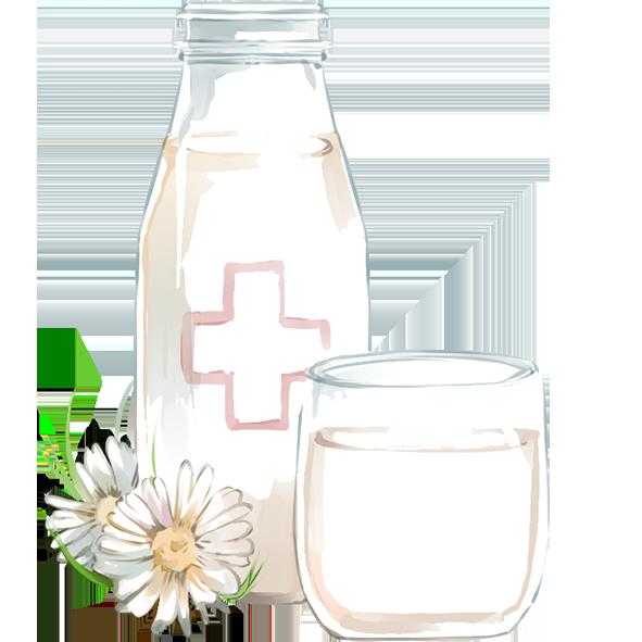 Lemoncha – Lait de vache