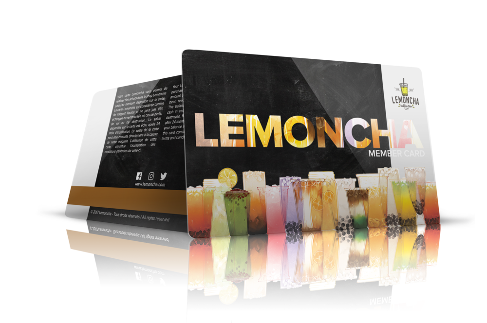 Lemoncha Member Card