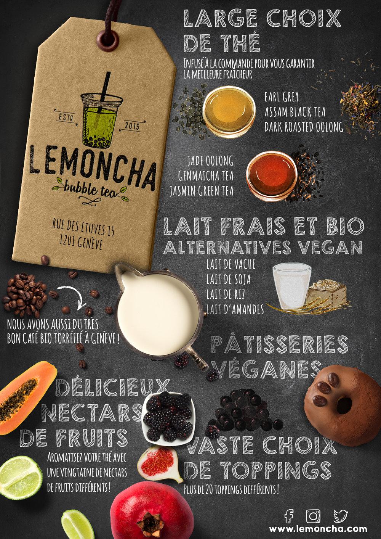 Lemoncha Grand Opening – Verso