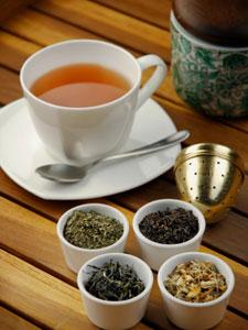 Différents styles de thé