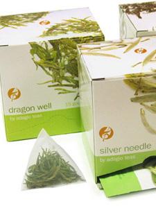 Sachets en pyramide de thé de haute qualité