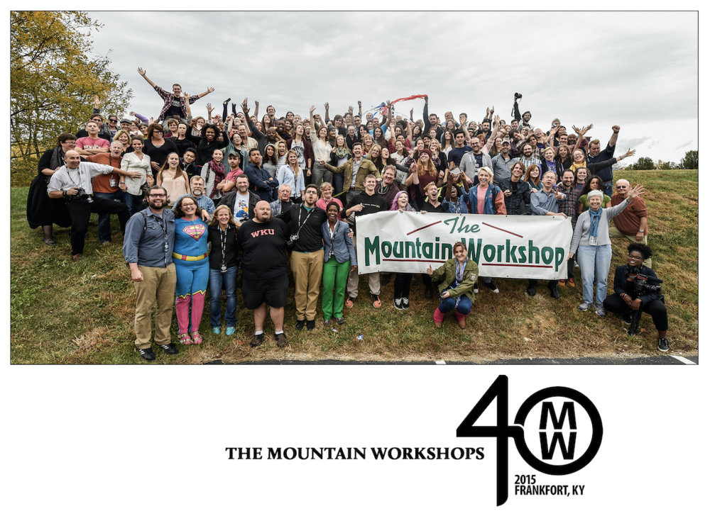 2015 Mountain Workshops' graduating class.