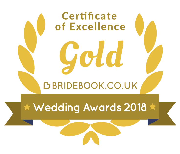 bridebook gold award