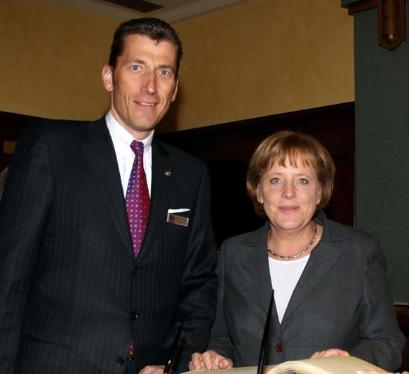 Besuch von Bundeskanzlerin Merkel in Bukarest.
