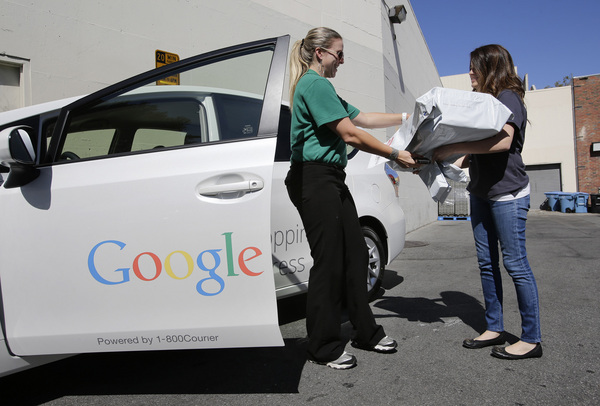 Google Express is trialling a grocery service in San Francisco