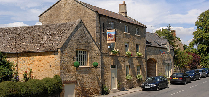 You can stay in Great British Menu winner's pub the Kingham Plough via the new www.innplaces.co.uk website