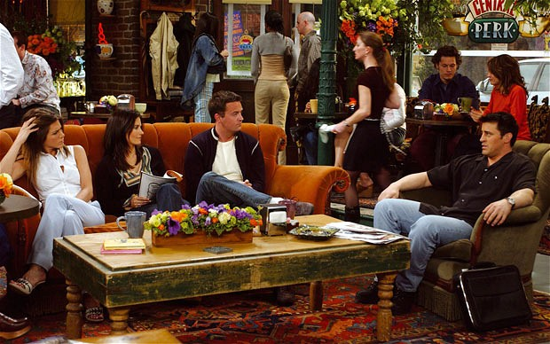 Central Perk...one of the more famous coffee shops around