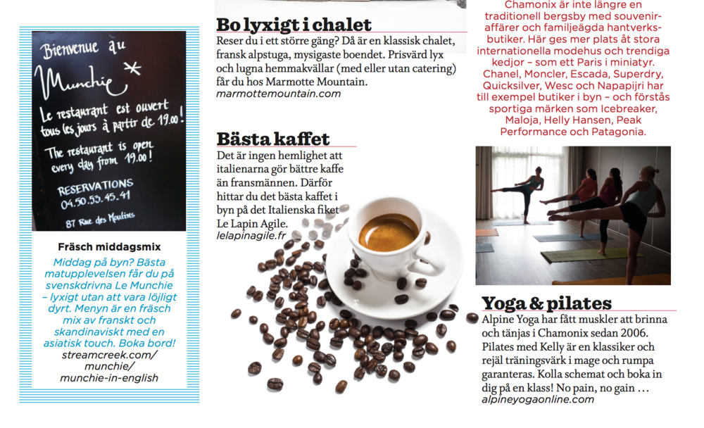 If you speak Swedish, click to see us featured in Womens Health!