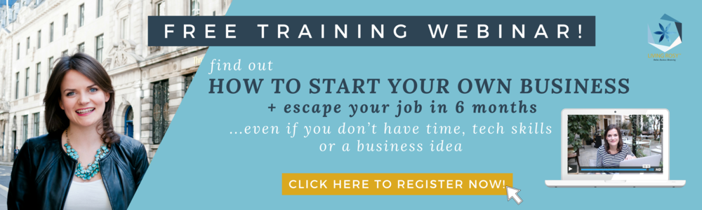 HOW TO START YOUR OWN BUSINESS ONLINE AND ESCAPE YOUR JOB IN 6 MONTHS