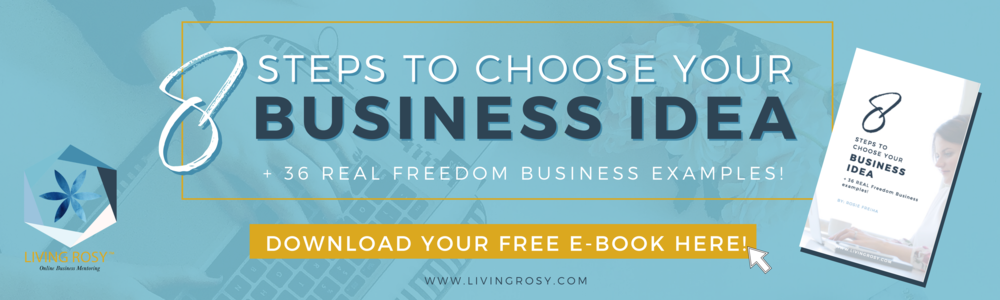 8 steps to choose business idea ebook