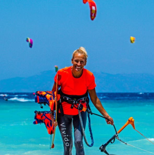 Anja Fuchs | Austria CEO Kitejoy Magazine, Kite & Travel