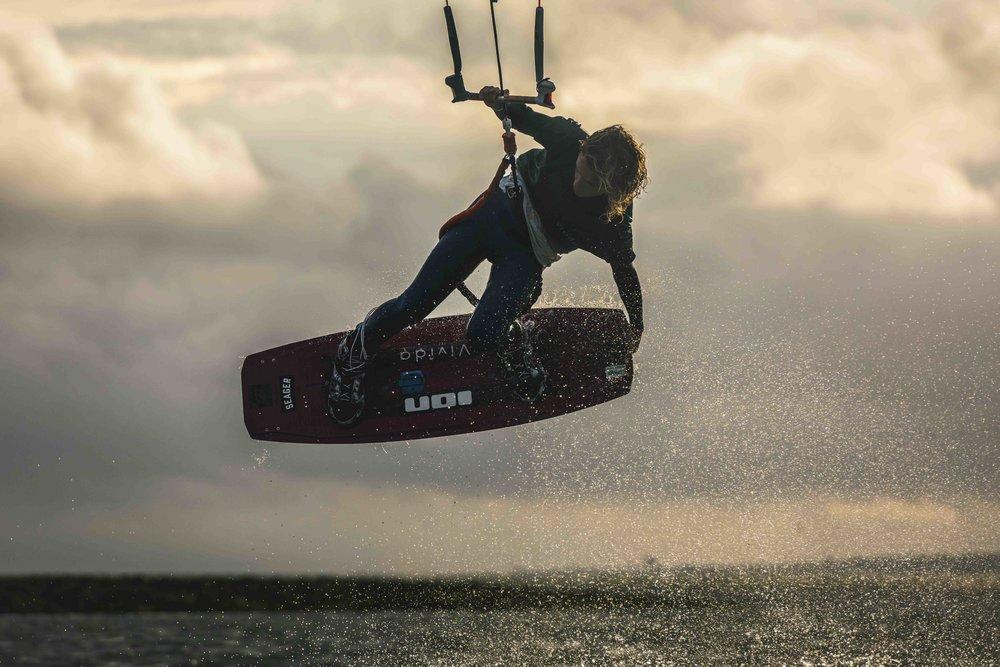 Tom Seager | UK   Junior GB Kiteboarding Champion 2014