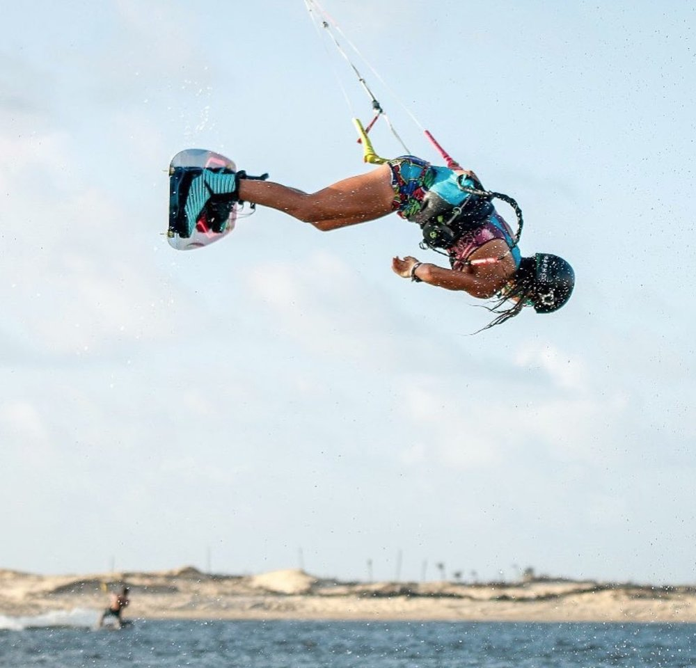 Mika Sol  Junior Kitesurfing World Champ '15, '16, '17