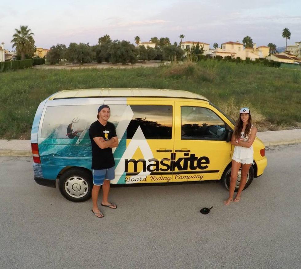 Kitesurf bikini maskite