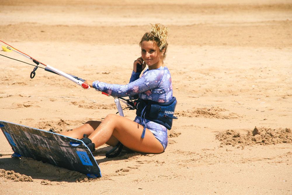 Kitesurf wetsuit, surf wetsuit