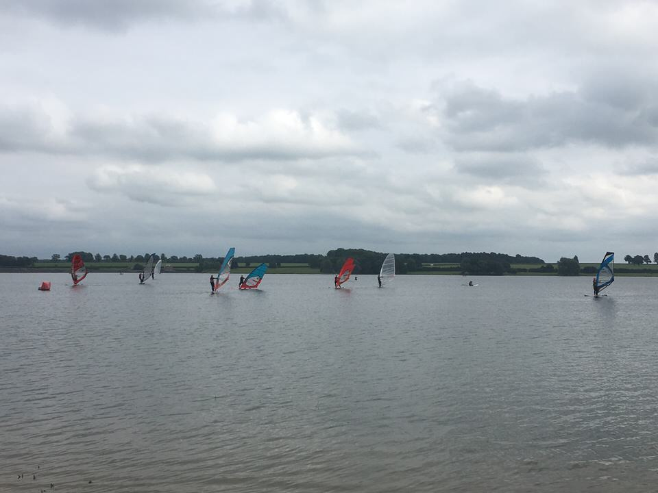 Rutland Water windsurf