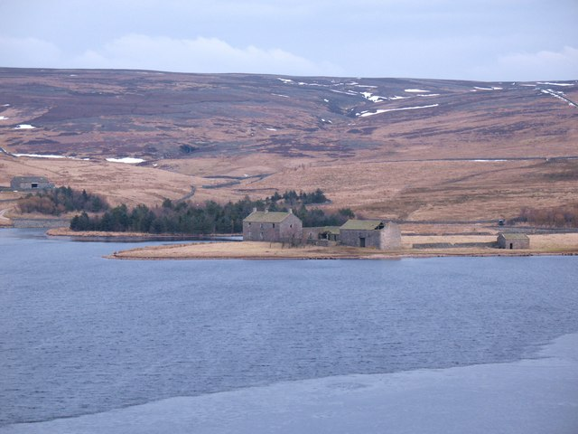 Grimwith Reservoir windsurf