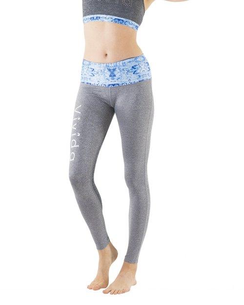 74882e3b4e023 Womens Yoga Leggings | Bohemian Blue | Yoga Wear