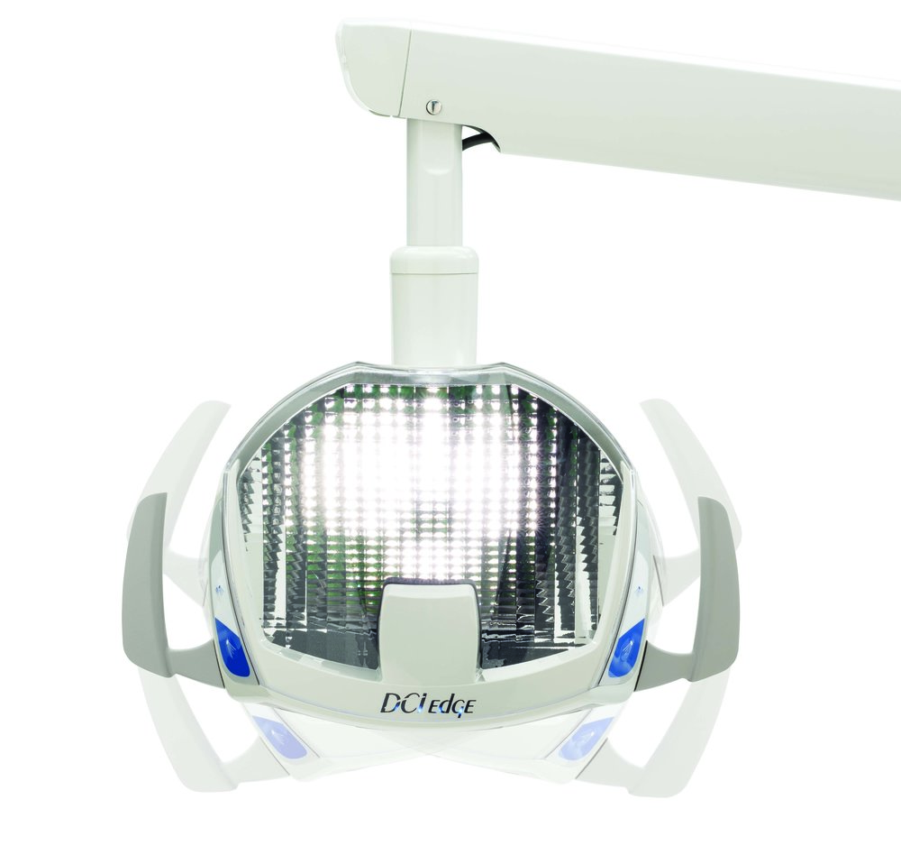 Breakthrough reflective LED technology combined with dual no-touch sensors and no-cure setting for the ultimate in operatory lighting at an affordable price