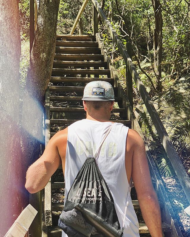 No wifi out there in nature, but you're guaranteed a better connection 👌🏽🌴 Great walks, chats and matcha with the one and only @jono.fleming