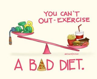 Exercise-Bad-Diet