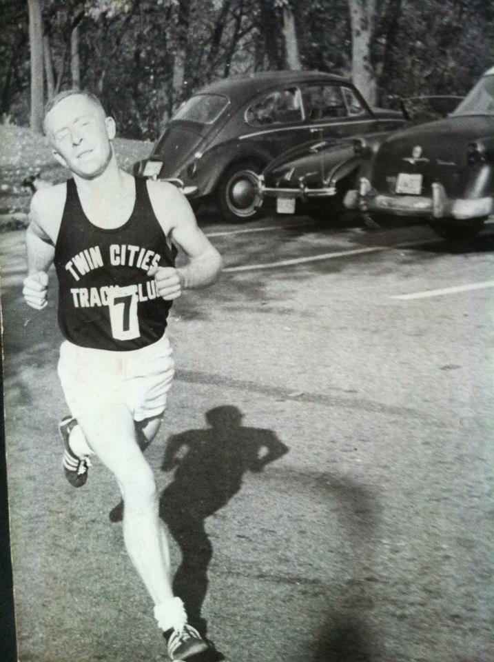 Jeff Reneau at the 1965 City of Lakes Marathon