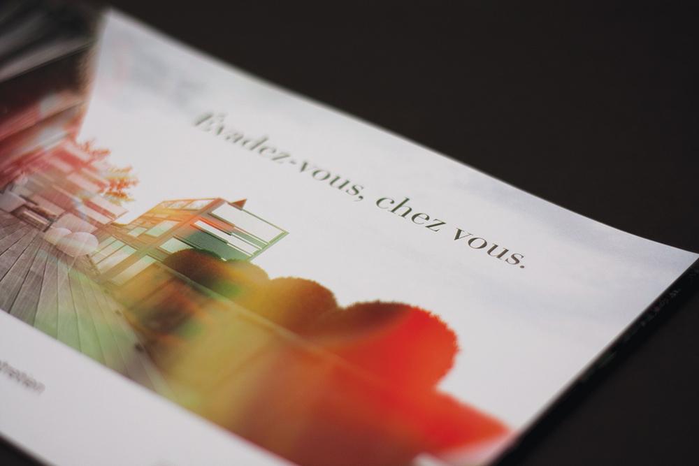 Brochure promotionnelle, Île de Montréal, été 2014. Imprimé.