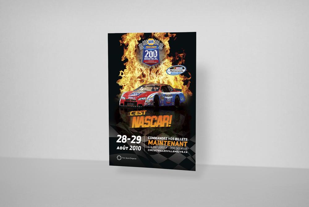 Campagne publicitaire 2010. Imprimé.