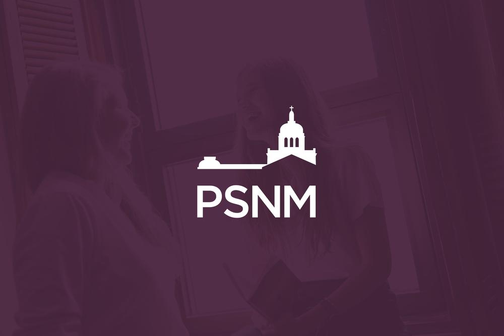 Pensionnat du Saint-Nom-de-Marie. École secondaire privée pour filles.