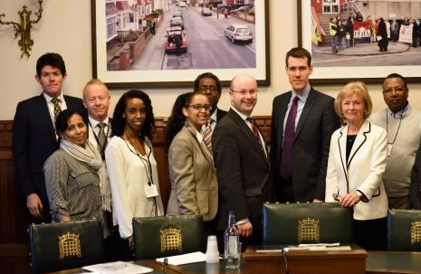 Bringing Eritrean human rights campaigners and parliamentarians together through an APPG