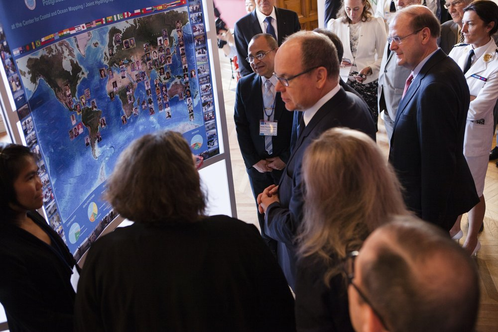 Prince Albert II of Monaco at the Forum for Future Ocean Floor Mapping