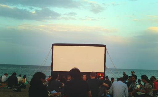 Cinema at Beach.jpg