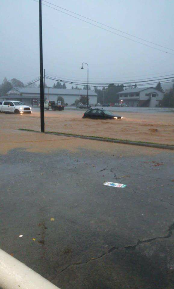 Urban Flooding in Lenoir (Caldwell County): Viewer Submitted