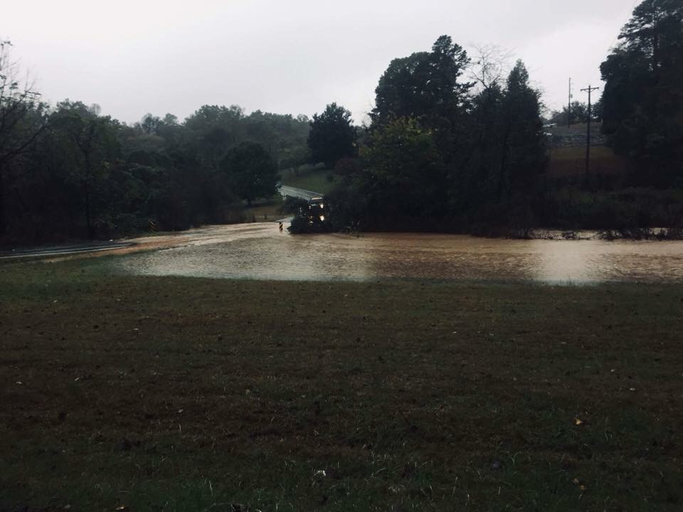 Flash Flooding- Roland's Chapel Dr (McDowell County) Source: McDowell Emergency Management