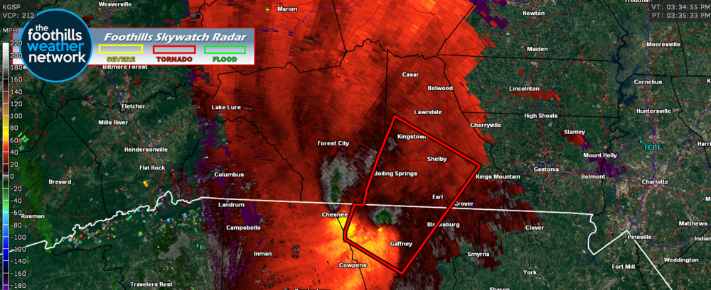 Doppler Radar Velocity Images 3:34 pm