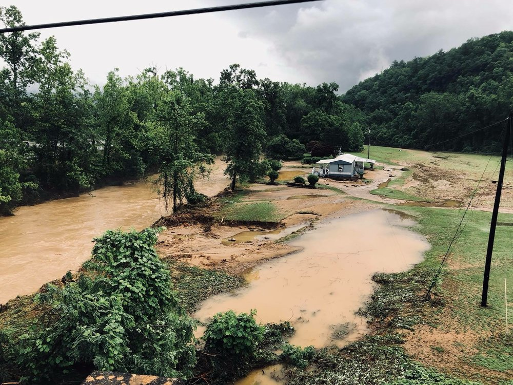 Catawba River at Oakdale Rd (Old Fort, McDowell Co 5/30)