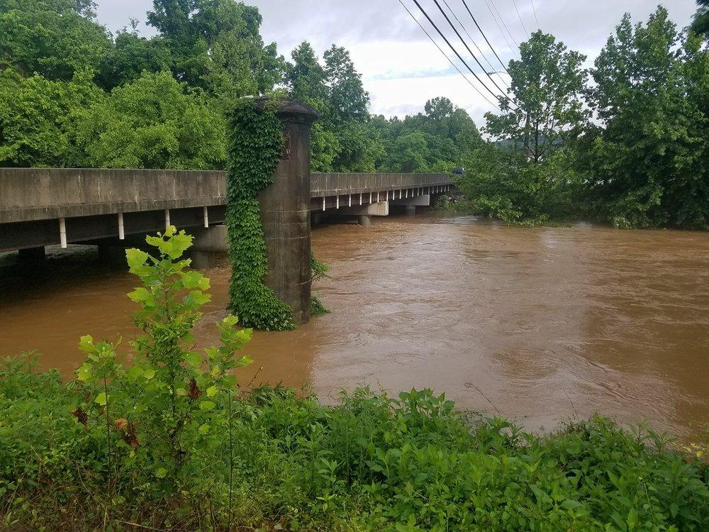 Catawba River at US 221 Bus. (Marion)
