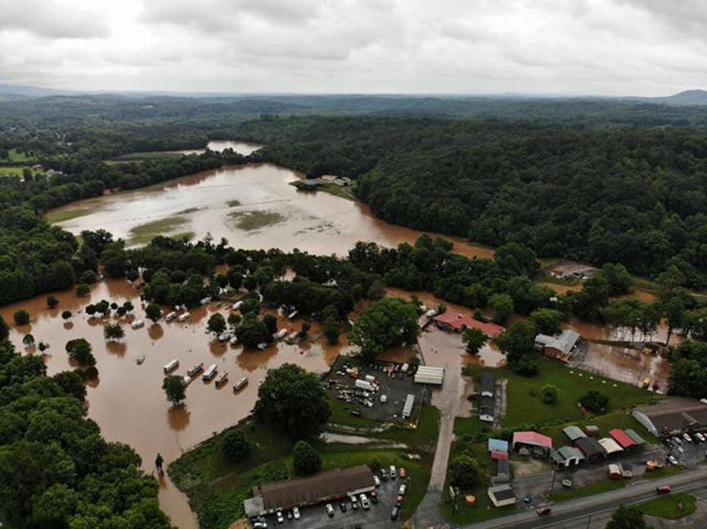 Catawba River Flooding, Hankins Community (McDowell Co, 5/30)